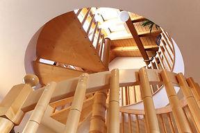 Innenausbau, Holzbau, Holz, Treppe