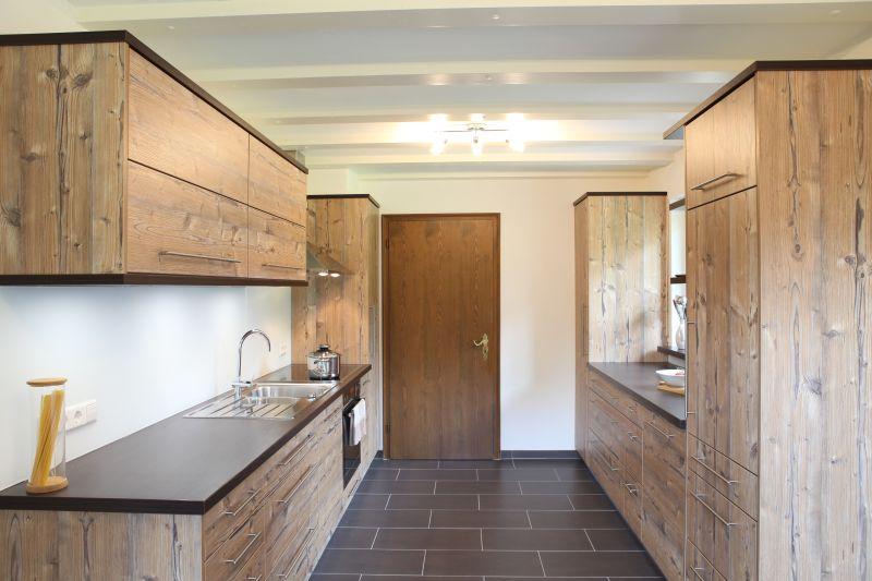 Küche Silbertanne Furnier