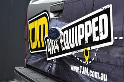 TJM Wrap Signage