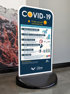 Free Stand covid 19