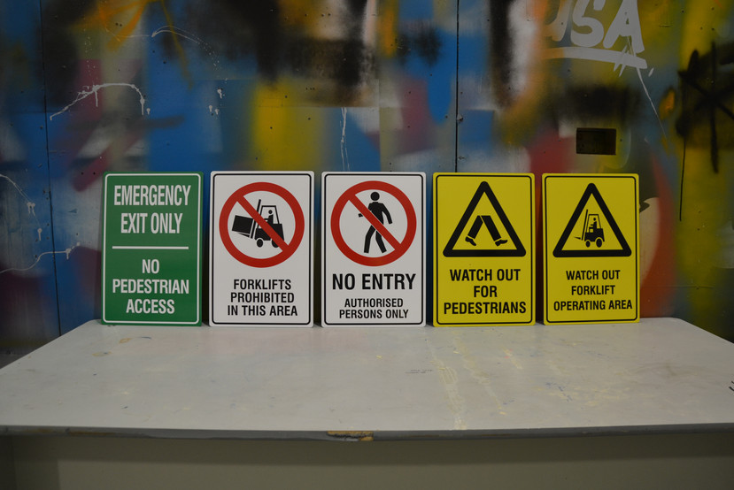 Caution Safety Signage Perth