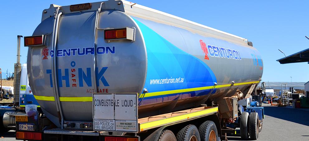 Centurion Tanker Signage