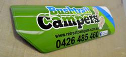 Bushtrail Campers Magnetic Signage