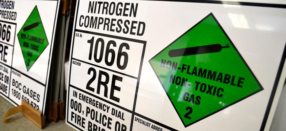 EIP Emergency Information Placard Perth Signs