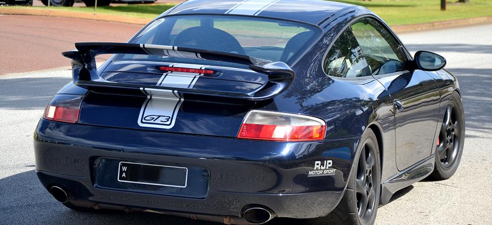 Porsche Striping Signage