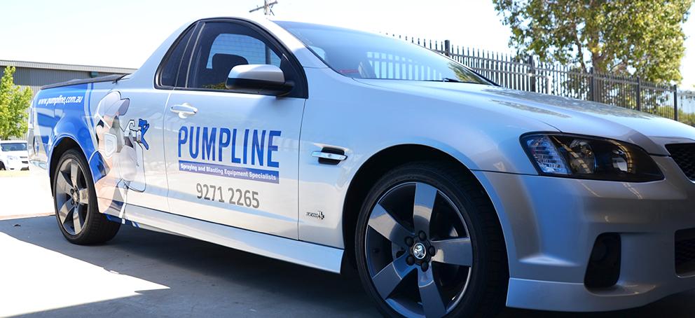 Pumpline Signage