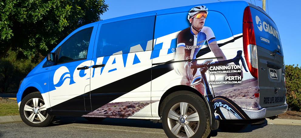 Giant Van Wrap Signage