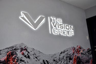 Lightbox Lit Up Sign LED Neon Perth Vision Group