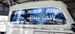 Iron Outlaw Signage
