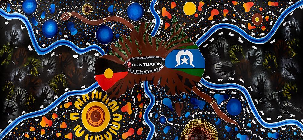 Aboriginal Art Perth Centurion Transport NAIDOC Week Vision Signmakers