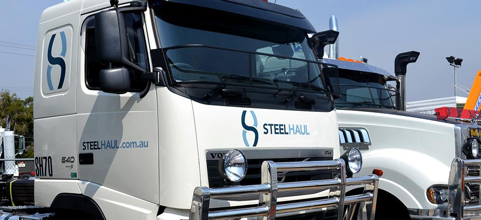 Steel Haul Signage