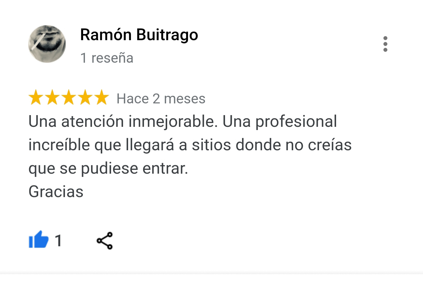 Reseña Google Bussines