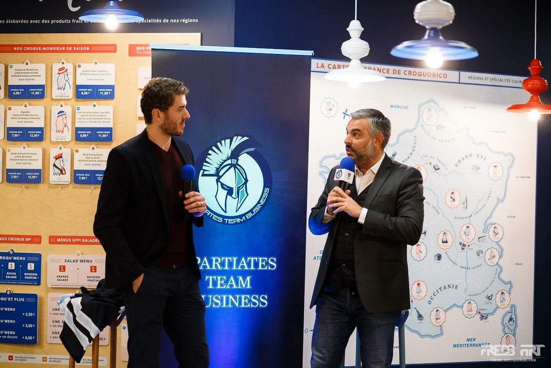 Soirée Spartiates Business Team avec Nicolas Deshaies