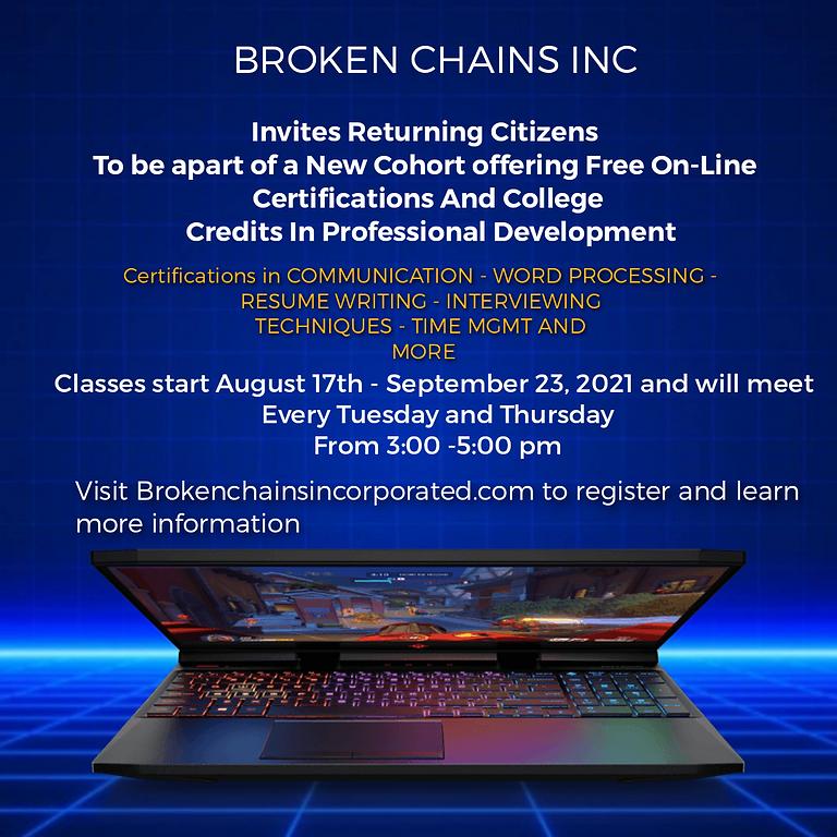 New Cohort - Free On-Line Professional Development  Certifications