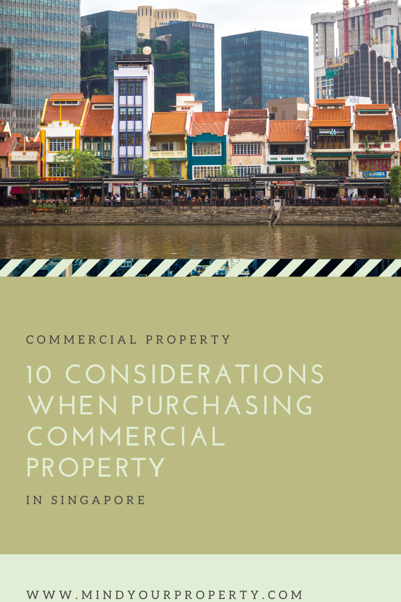 10 considerations when purchasing commercial property in Singapore
