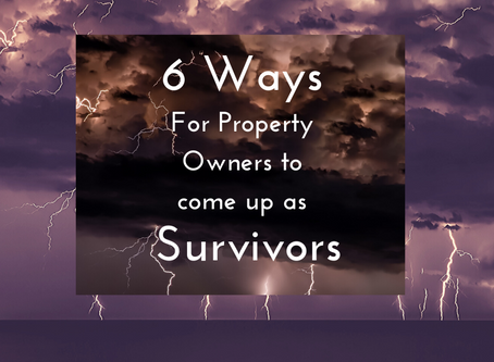 6 Ways For Property Owners To Come Up As Survivors Through the Covid-19 Crisis