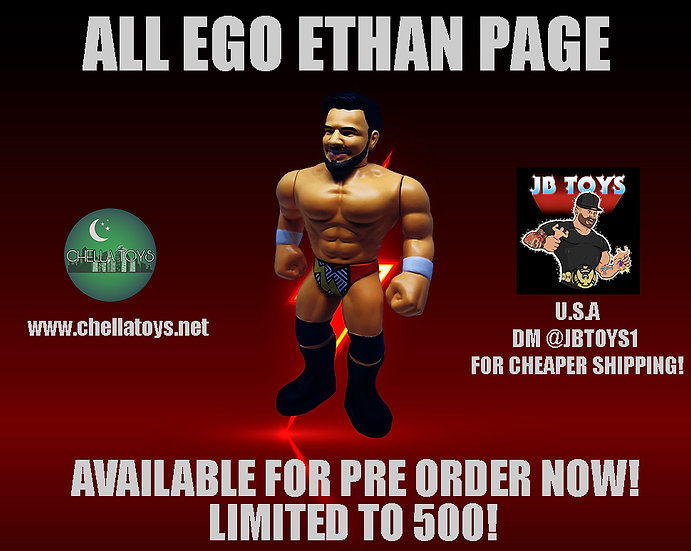 ETHAN PAGE RETRO STYLE FIGURE! LIMITED TO 500!!