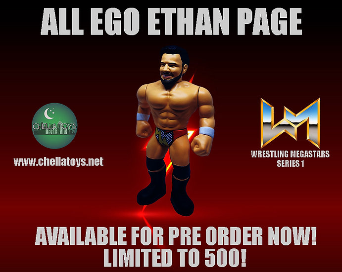 ETHAN PAGE RETRO STYLE FIGURE!