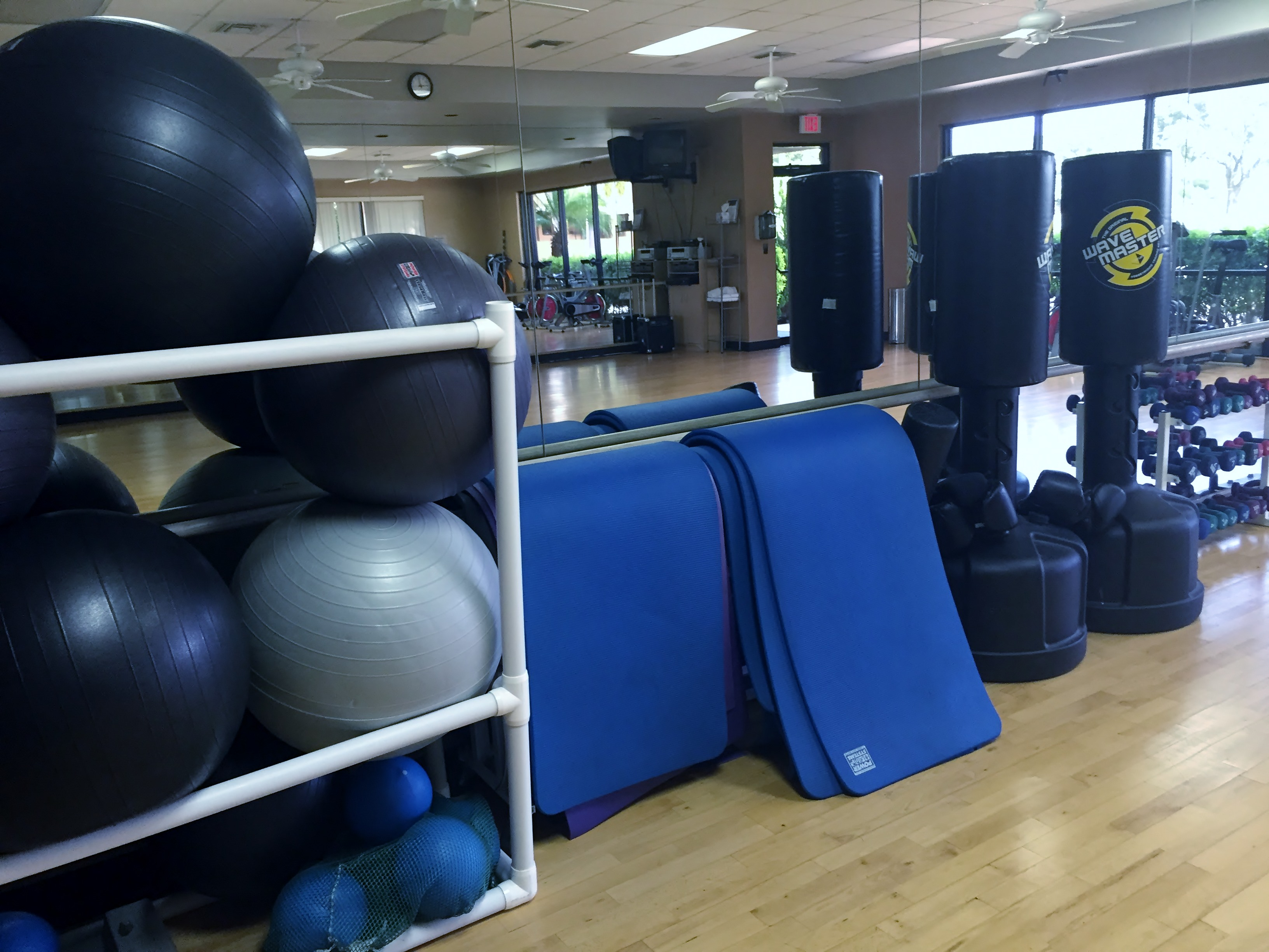 Group and personal training studio
