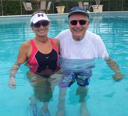 Aquatic rehab for ALS