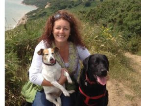 Siobhan and dogs