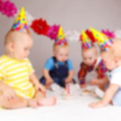 Grupo de bebês
