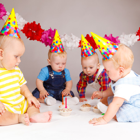 It's party time for the babies!
