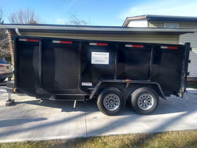 Dump trailer we use