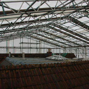 Temporary Roof Structure