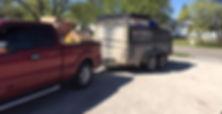 Full Trailer load of Trash