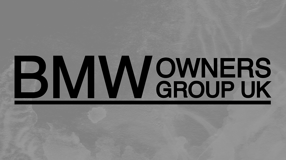 BMW Owners Club Decals
