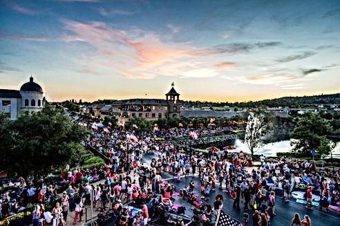 El Dorado Hills summer outdoor concerts and activites at Town Center