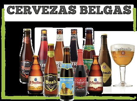 Catalgo de cervezas belga