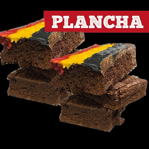 Plancha Brownie Glaceado