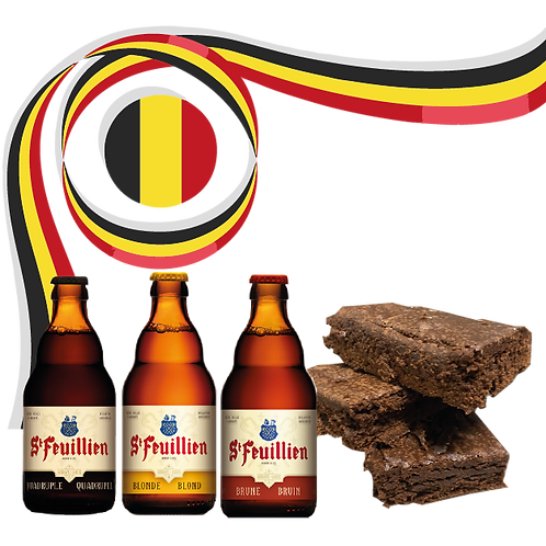 Pack St Feuillien + Brownies