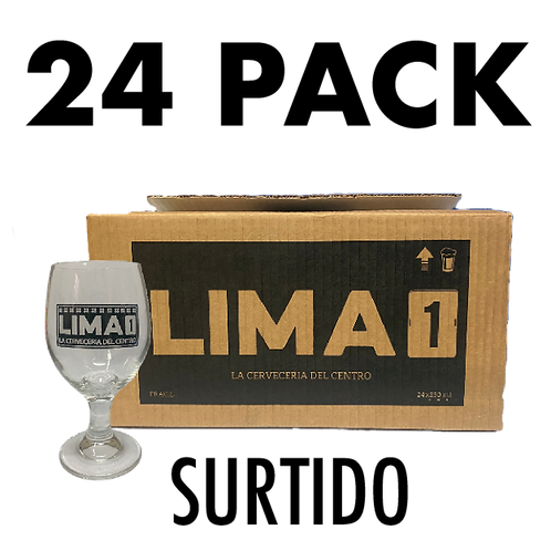 24 Pack Surtido Lima 1 + copa