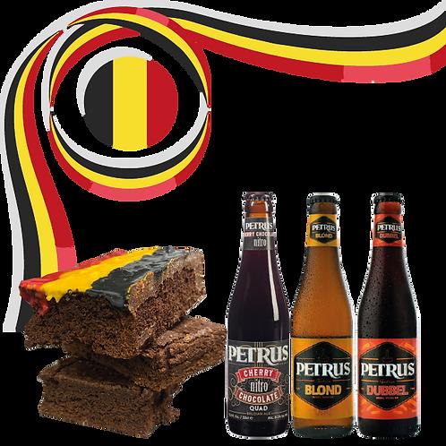 Pack Petrus + brownie glaseado
