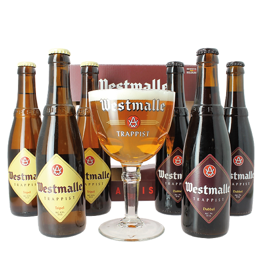 6 pack Westmalle + copa