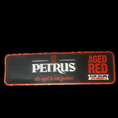tapiz de goma Petrus Aged red