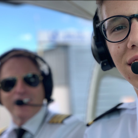 Clifton Aviation Trains youngest UK LAPL Student