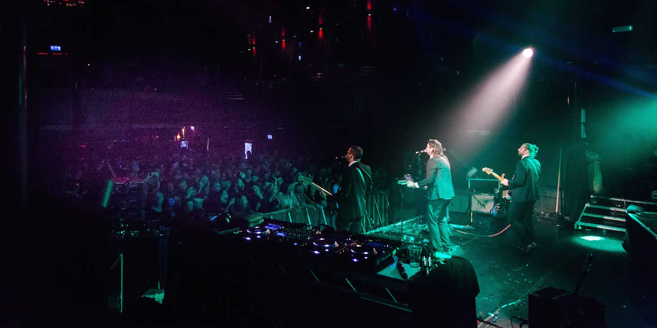 From the back at KOKO, 2017