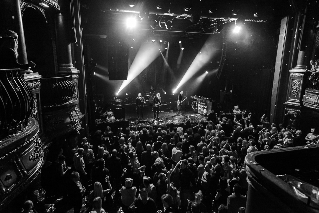 The crowd at KOKO, Camden