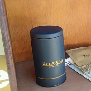 allpress espresso特製キャニスター