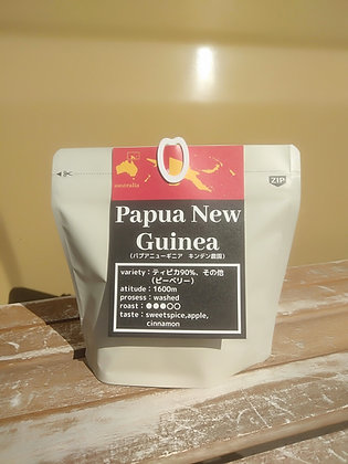 【connex coffee】パプアニューギニア キンデン農園(手網焙煎)