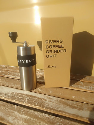 【rivers】コーヒーグラインダー グリット シルバー