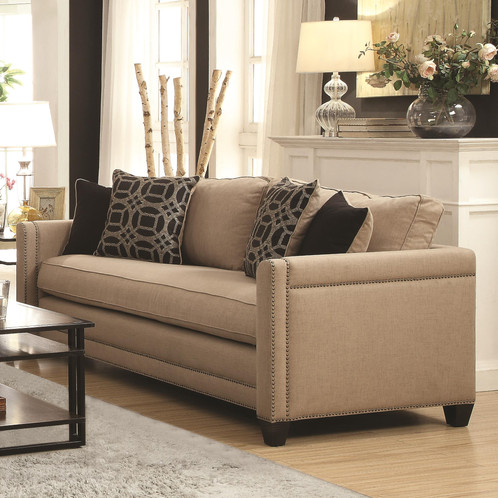 Classic Contemporary Style Sofa