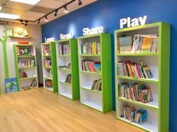 閱覽室圖書區
