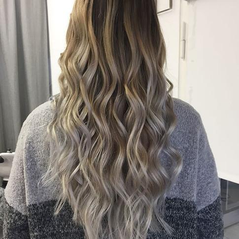 Vorher-nacher__#leeshairdressing #blonde