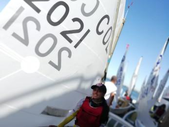 Paula y Ana Sofía, Felicitaciones por sus excelentes resultados en la 54va Semana de Vela de Mar del