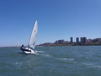 Luis Antonio, Top 10 en Mar del Plata en la Categoría Láser 4,7